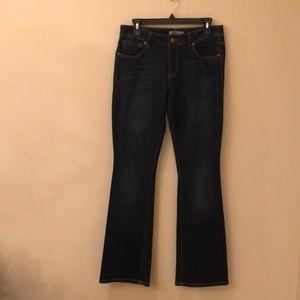 CAbi style 120 women's bootcut denim jean size 6